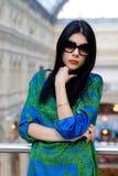 Fashionable portrait of a beautiful model Stock Photo