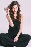 Fashionable portrait. Royalty Free Stock Image