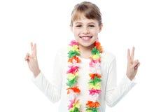 Fashionable pretty cute girl Stock Image