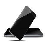Fashionable realistic phones. Royalty Free Stock Photo