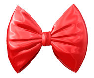 Fashionable red bow Royalty Free Stock Photos
