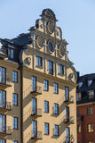 Fashionable residential building Kungsholmen Stockholm Royalty Free Stock Photos