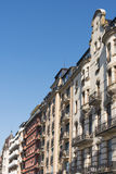 Fashionable residential buildings Kungsholmen Stockholm Royalty Free Stock Image