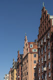 Fashionable residential buildings Kungsholmen Stockholm Royalty Free Stock Images