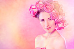 Fashionable roses Royalty Free Stock Photography