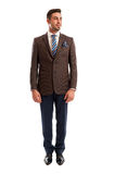Fashionable sales man standing Stock Photos