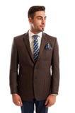 Fashionable sales man Stock Photo