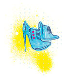 Fashionable shoes Royalty Free Stock Photo