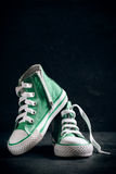 Fashionable shoes Stock Photos