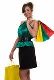 Fashionable shopper Royalty Free Stock Images