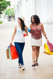 Fashionable shopping stock photo