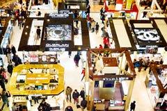 Fashionable shopping mall, Paris Royalty Free Stock Photos