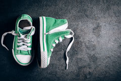 Fashionable sneakers Royalty Free Stock Images