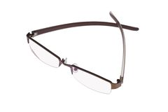 Fashionable spectacles Royalty Free Stock Photo