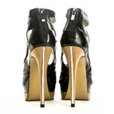 Fashionable stiletto high heels shoes Royalty Free Stock Photos