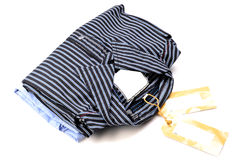 Fashionable stripped shirts Royalty Free Stock Image