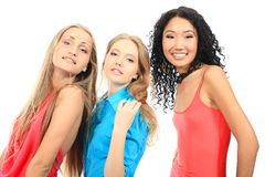 Fashionable students Royalty Free Stock Photography