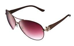 Fashionable sunglasses isolated on white Stock Photo