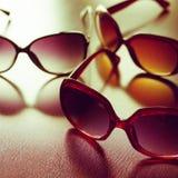 Fashionable sunglasses. Vintage stylized. Royalty Free Stock Photography