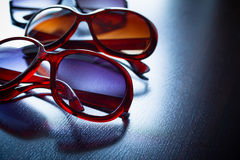 Fashionable sunglasses. Vintage stylized. stock photography
