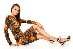 Fashionable teenager Royalty Free Stock Photos