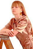 Fashionable teenager Royalty Free Stock Image