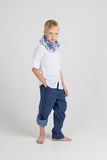 Fashionable teenager poses Royalty Free Stock Photo