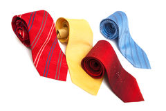 Fashionable ties Royalty Free Stock Images