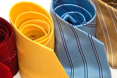 Fashionable ties Stock Image