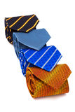 Fashionable ties Royalty Free Stock Photo
