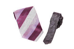Fashionable ties Stock Images