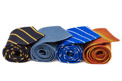 A fashionable ties Stock Photo