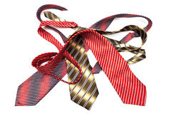 Fashionable ties Stock Photo