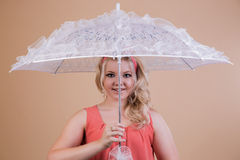 Fashionable umbrella Stock Photo
