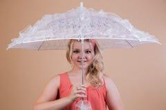Fashionable umbrella Stock Photo