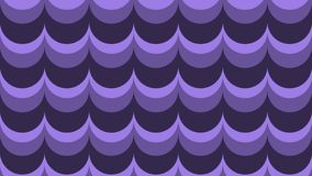 Fashionable, wavy background in shades of ultraviolet vector illustration