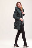 Fashionable Winter Fashion Stock Photography