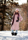 Fashionable winter wear Stock Photos