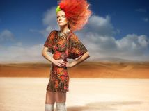 Fashionable woman Stock Images