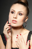 Fashionable woman Royalty Free Stock Photography