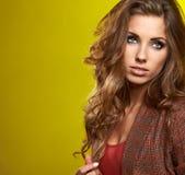 Fashionable woman Stock Photography