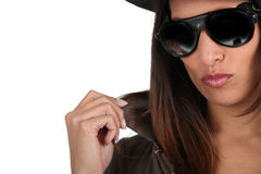 Fashionable woman Royalty Free Stock Image