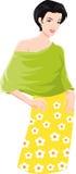 Fashionable woman Stock Image