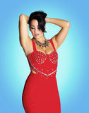Fashionable woman. Stock Image