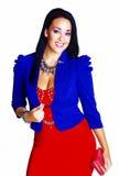 Fashionable woman. Stock Photo