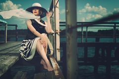 Fashionable woman Stock Photo