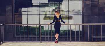 Fashionable Woman Blonde Woman Royalty Free Stock Photos
