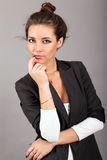 Fashionable woman posing Royalty Free Stock Photo