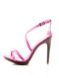 Fashionable women high heel shoe Stock Images