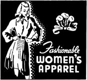 Fashionable Women's Apparel Stock Image